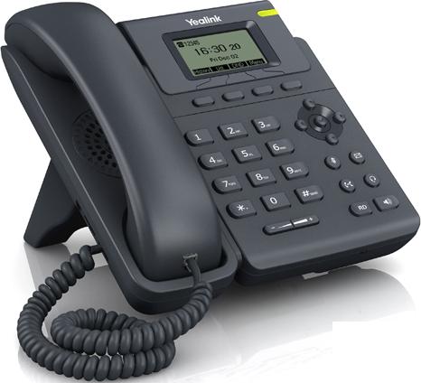 Telefon przewodowy biurkowy VoIP Yealink T19