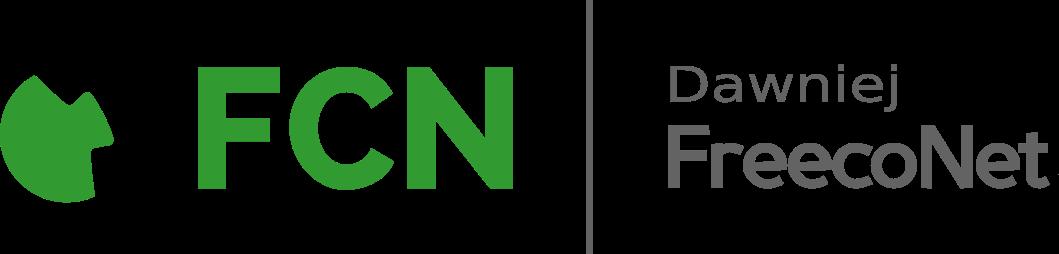 Logo FCN dawniej FreecoNet