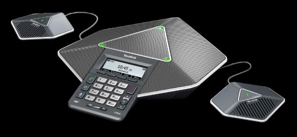 Telefon konferencyjny VoIP Yealink CP860 zestaw z dodatkowymi mikrofonami