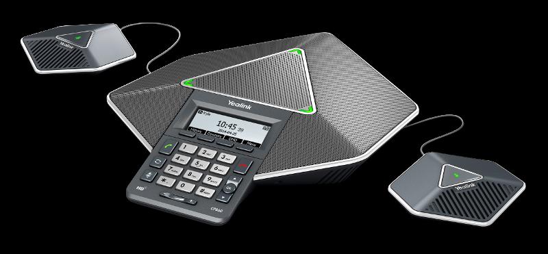 Yealink CP860 Telefon konferencyjny z dwoma mikrofonami zewnętrznymi