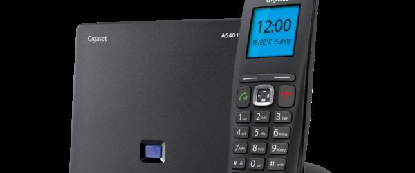 Gigaset 540IP zestaw stacja DECT i bezprzewodowa słuchawka telefon VoIP