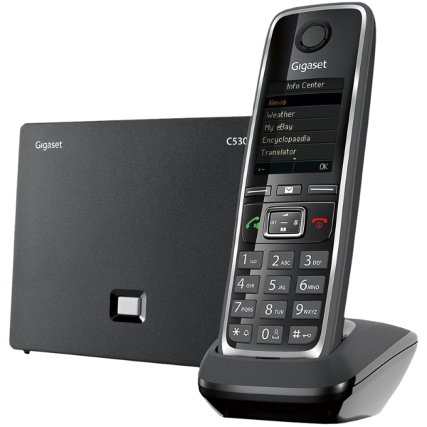 Gigaset C530 IP DECT i słuchawka telefon bezprzewodowy VoIP