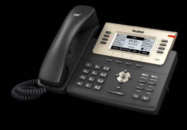 Telefon biurkowy VoIP przewodowy Yealink T27G