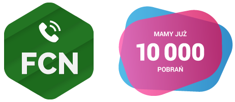 Logo Telefon FCN - już 10 000 pobrań