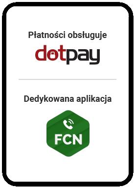 FCN: płatności obsługuje DotPay, dedykow