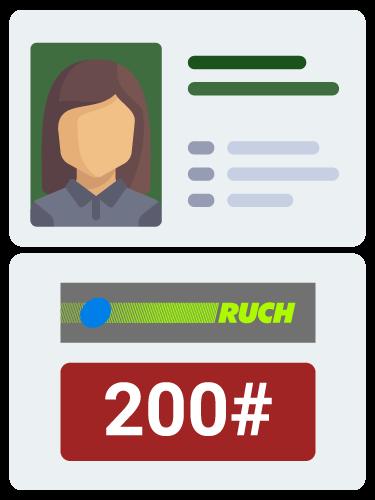 FCN zweryfikuj w RUCH, zadzwoń na 200# po pomoc