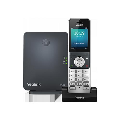 Yealink W60 - zestaw DECT i słuchawka VoIP