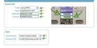 Obraz przedstawiający stronę dodania nowego terminala lub bramki VoIP w panelu FCN z formularzem wypełnionym przykładowymi danymi.