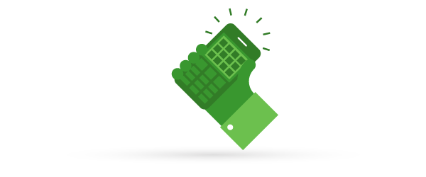 Ikona: telefon komórkowy