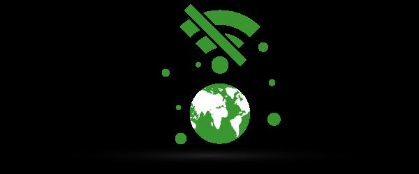 Ikona: korzystanie zVoIP bezinternetu